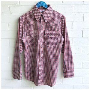 Levi's Men's Vintage Panatela Western Check Shirt